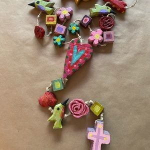 Southwest Handmade Rosary Wooden Hand-made Artwork